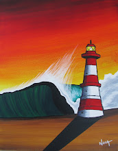 Todos Santos Big Wave Event 2010 Prize Paintings