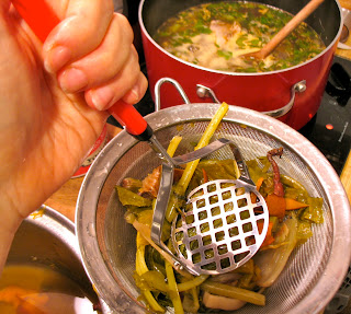 how to keep leftover broth