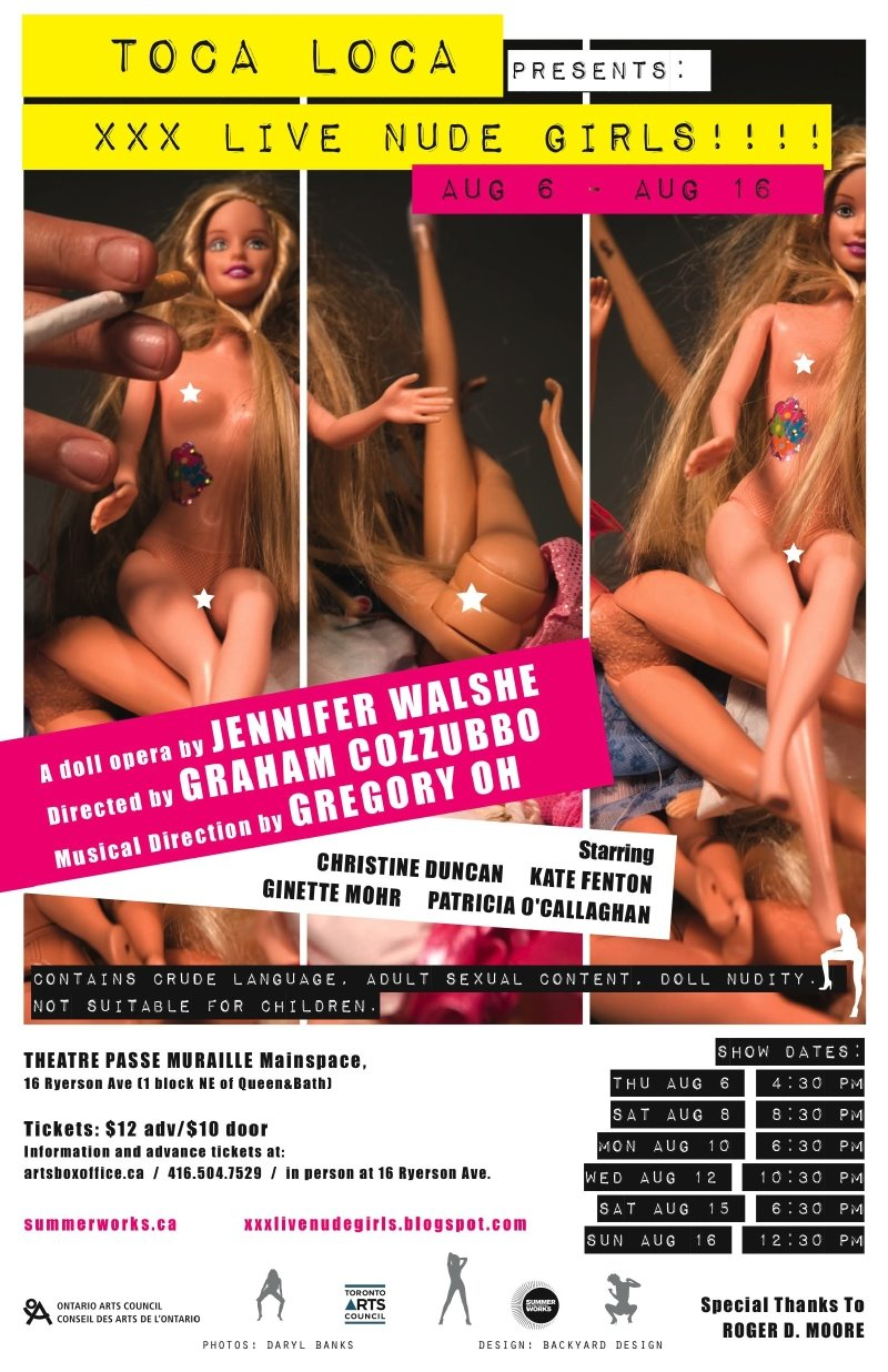 XXX LIVE NUDE GIRLS!!! - The Summerworks Show