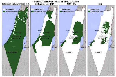 progress of Israeli genocide & ethnic-cleansing in Palestine
