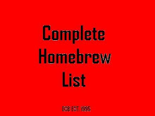 Homebrew List
