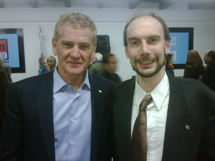 Junto con el vencedor de Kirchner en 2009