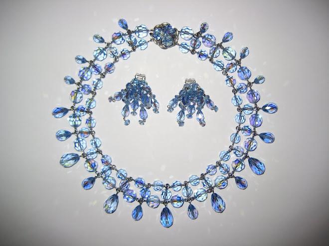 Beautiful Baby Blue Sherman Crystal