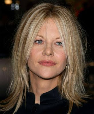 Meg Ryan's Short Hair Shaggy Bob Hairstyles