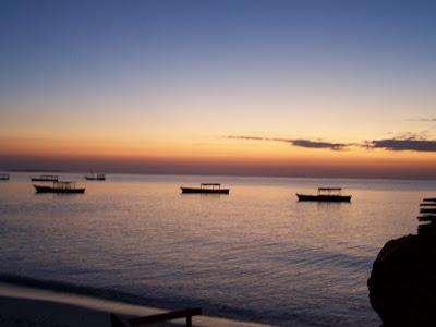 Zanzibar, Sunset, Africa, African sunset, Kenya, Island Sunset