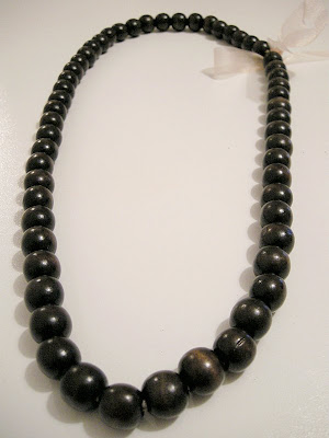 DIY wooden necklace, Wooden beads, Easy necklace, DIY Beaded necklace, easy crafting