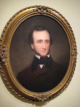 Samuel S. Osgood Portrait of Poe, c.1845