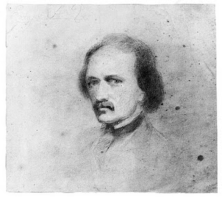 Alleged Poe Self-Portrait