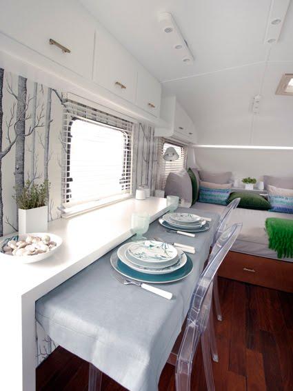 Chicdec un viaje vintage en una caravana muy chica - Interior caravana ...
