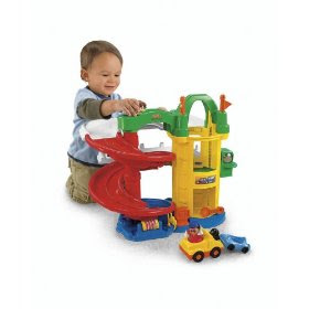 Pre kindergarten toys october 2009 - Fisher price little people racin ramps garage ...