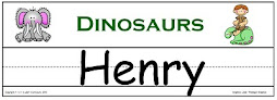 Dinosaur Name Templates