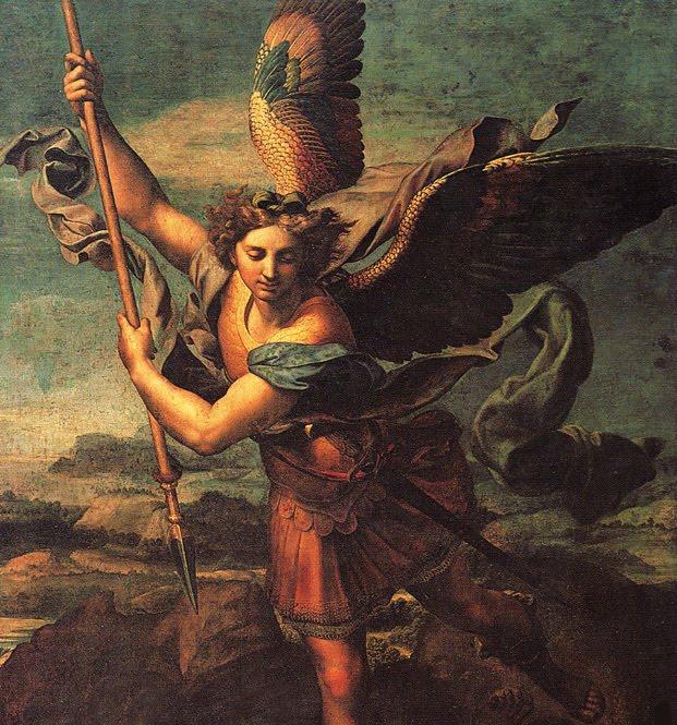 st michael the archangel prayer st michael the archangel defend us in ...