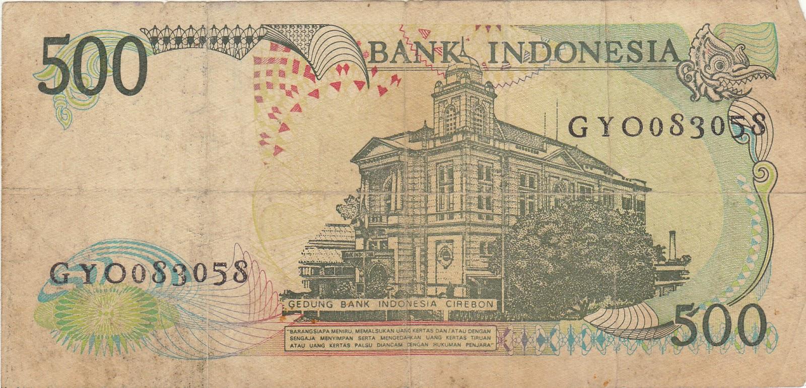 Uang rp. 500