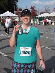 Atlanta Half Marathon 11/25/10