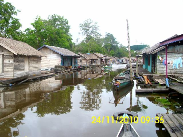 Barsel Promo Wisata Kampung Terapung Bambaler