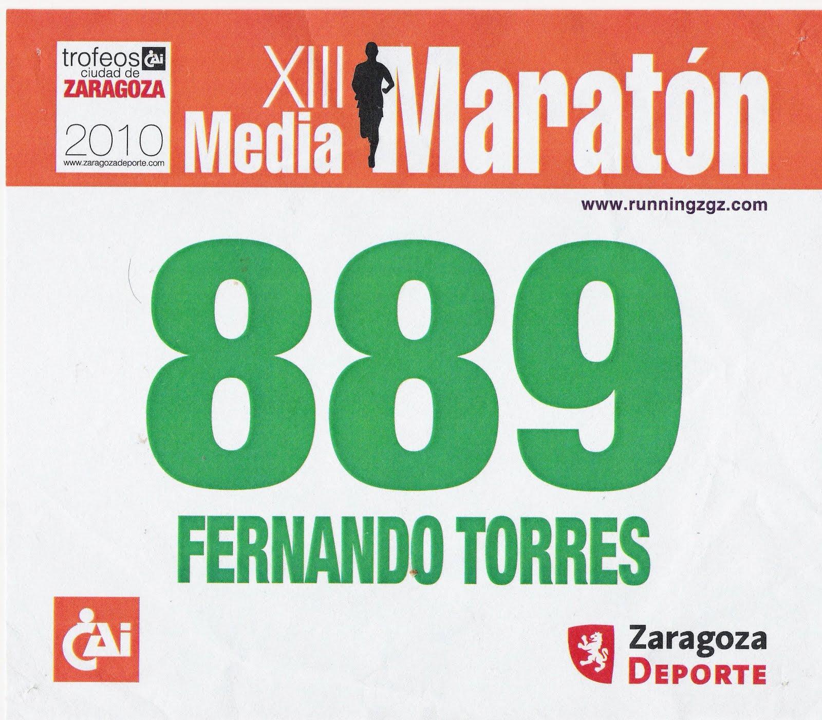 Correr es de cobardes media maraton de zaragoza la for Oficinas cai en zaragoza