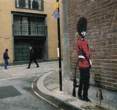 El arte reivindicativo de Banksy