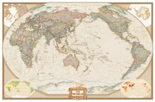 WallPaper-World Map Antique