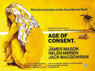 All Slights Deserved: AFED #22: Age of Consent (Australia, 1969 ...