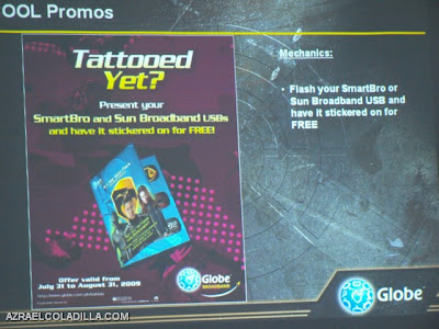 GLOBE Broadband Tattoo gears up with limited edition G.I. JOE skins