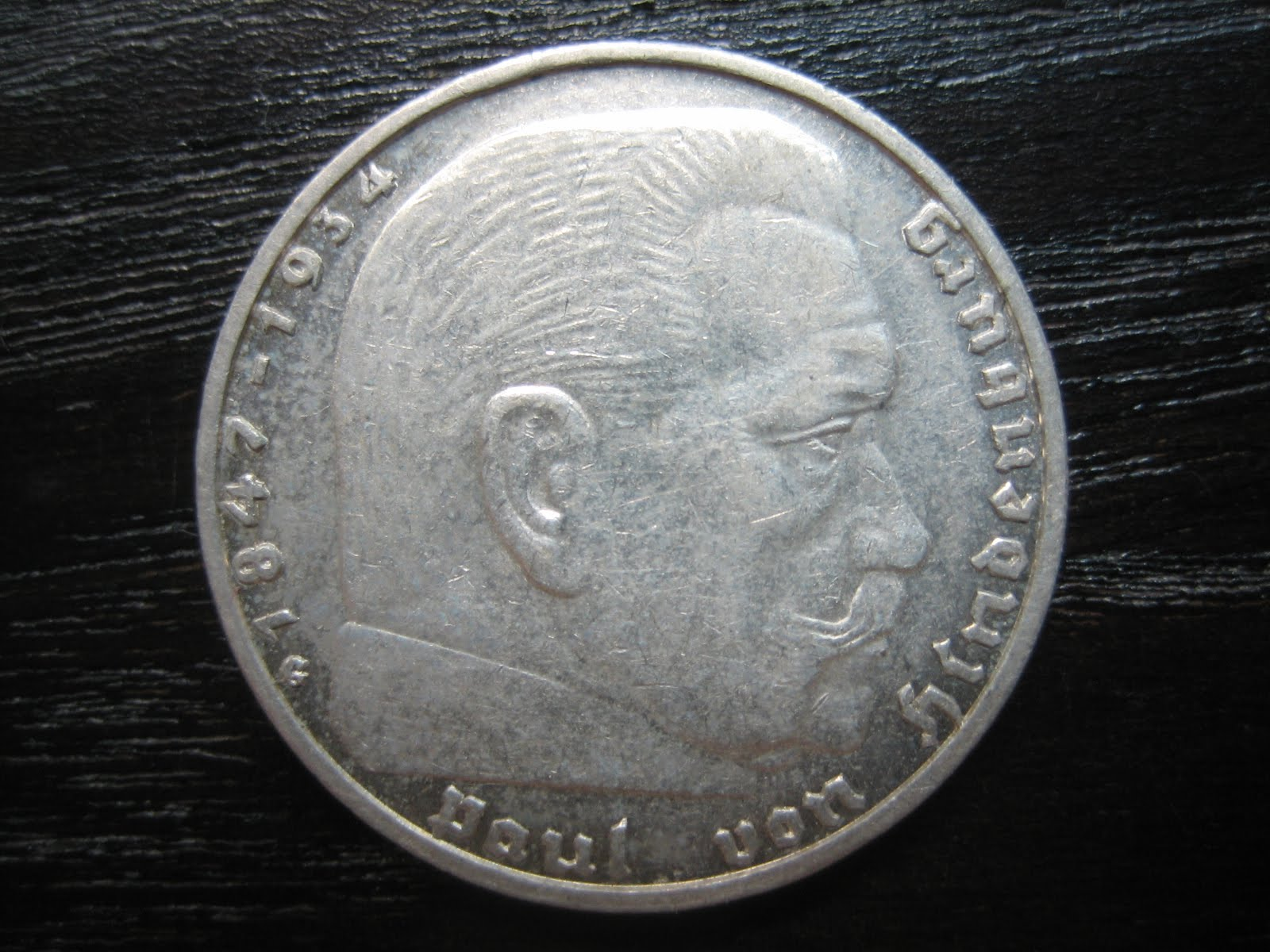 Numismatic Collection 1936 Third Reich Silver 2 Reichmark