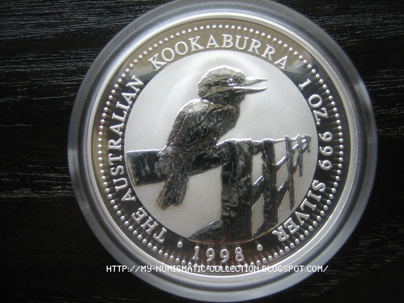 Numismatic Collection 1998 Australian Silver Kookaburra