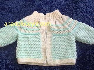 Bebek hırkası DVC01872