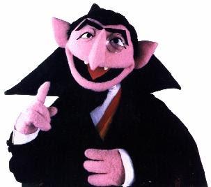 Count von count sesame street