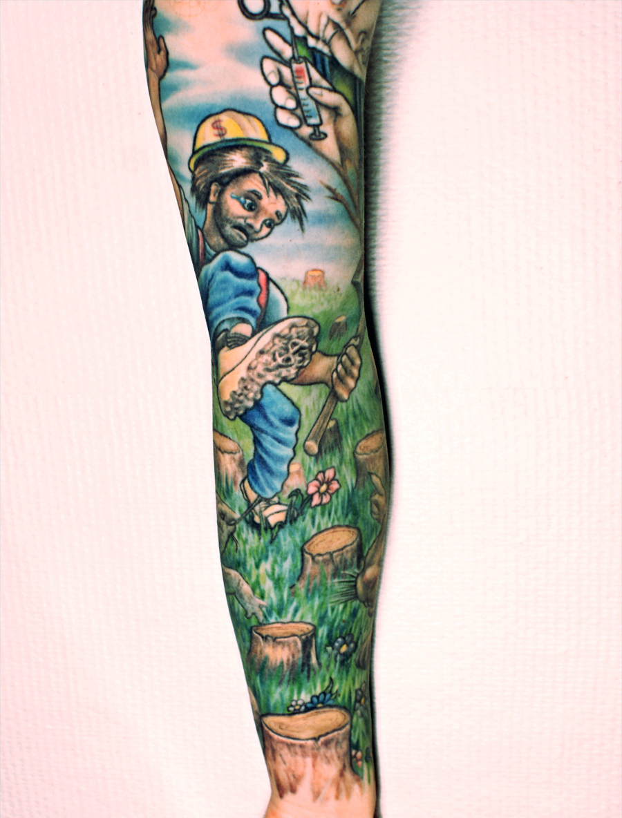 The gallery for --> Stihl Chainsaw Tattoo