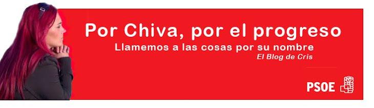 Cristina Suárez. PSOE Chiva