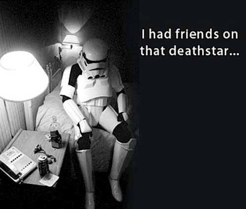 Depressed Stormtrooper