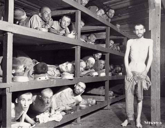 holocaust concentration camps. concentration camps came