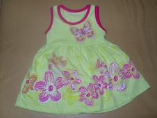 O primeiro vestido!!!