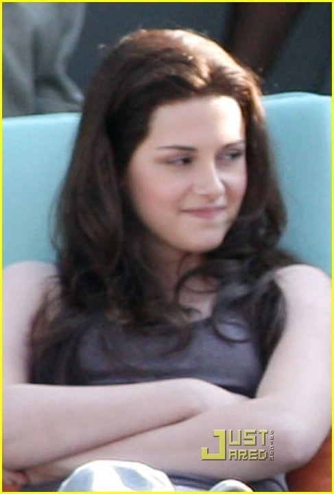 "Kristen Stewart - ""My Own Hair for Breaking Dawn"""