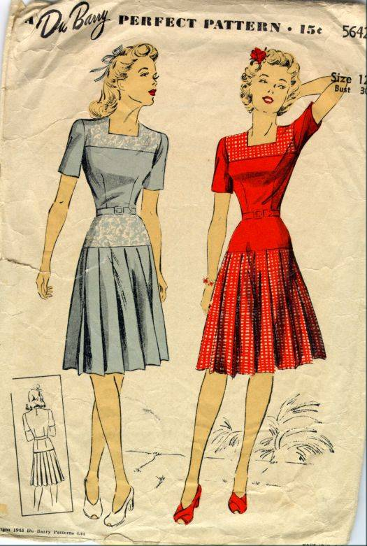1940 s fashion