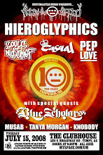 Hieroglyphics, Blue Scholars, Musab, Tanya Morgan, Knobody