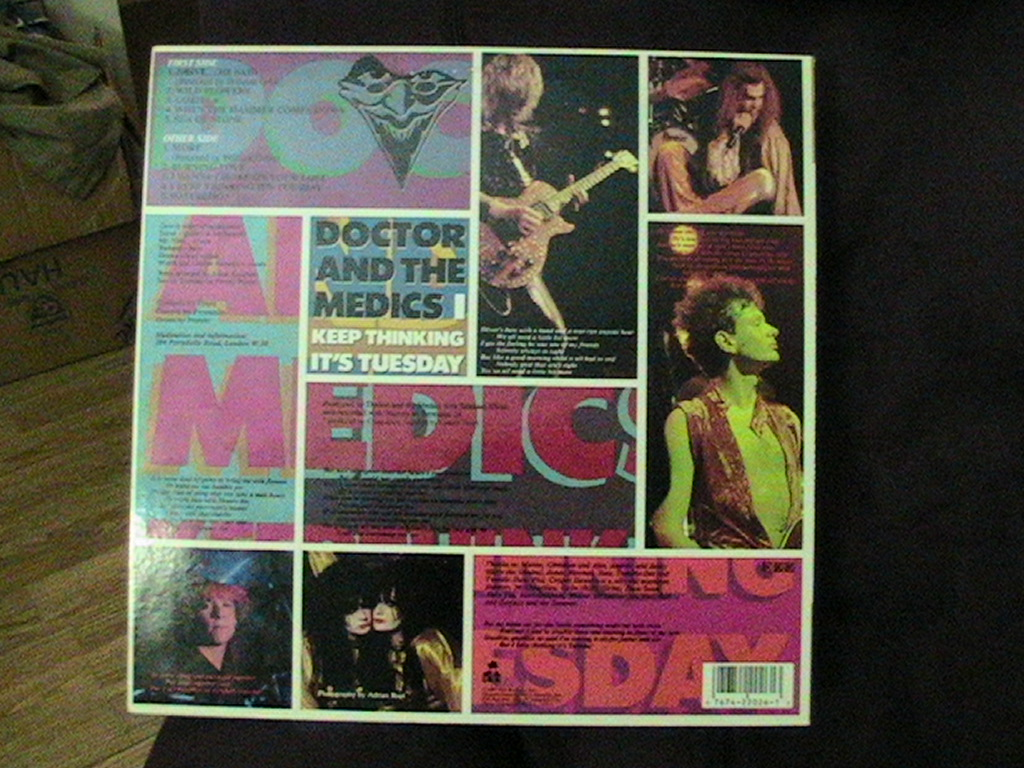 Doctor and the Medics - I Keep Thinking It's Tuesday LP '87
