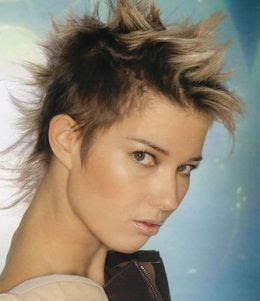 Funky Saç Modelleri