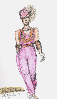 fashion illustration by Liz Blair