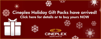 cineplex odeon buy 30 gift card get 70 in extra. Black Bedroom Furniture Sets. Home Design Ideas