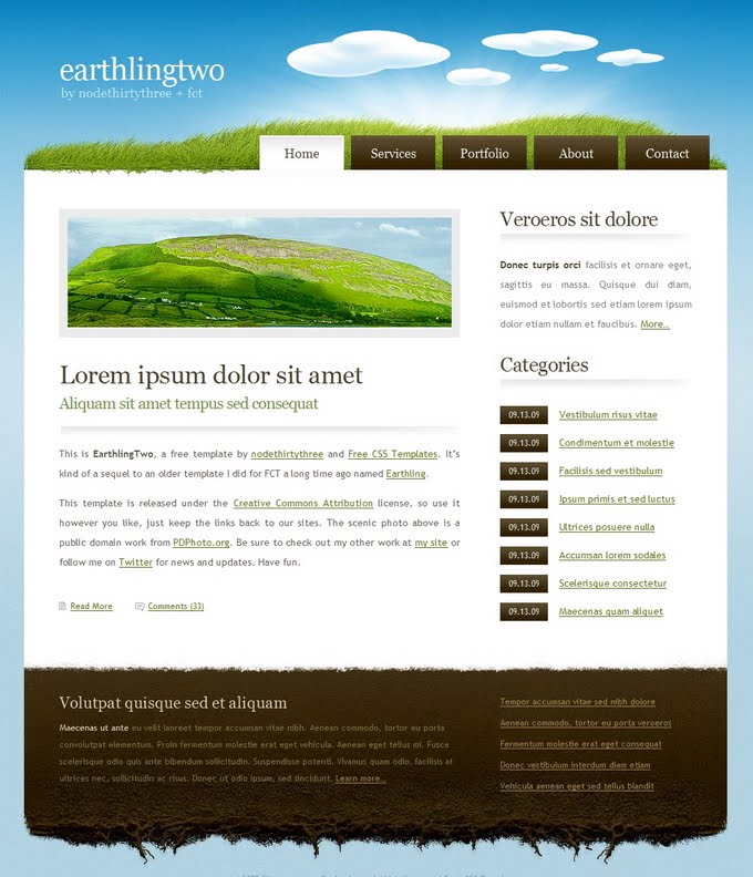 Links Pile Up: Website Templates from where to download or buy ...