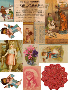 2011 Free Collage Sheet Vintage Scraps