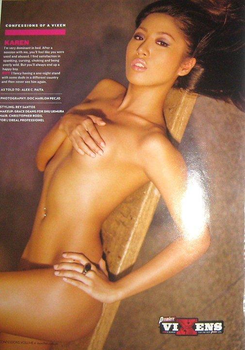 Lovely KAREN BORDADOR - Premiere Vixen Model ~ Nude Filipina: nudefilipina.blogspot.com/2011/03/lovely-karen-bordador-premiere...