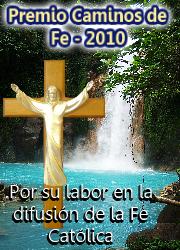 Premio Caminos de la Fe 2010