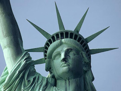 The Statue Of Liberty   one of America s great symbols of hope    Statue Of Liberty Head And Crown