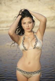 Jessica Gomes in bikini