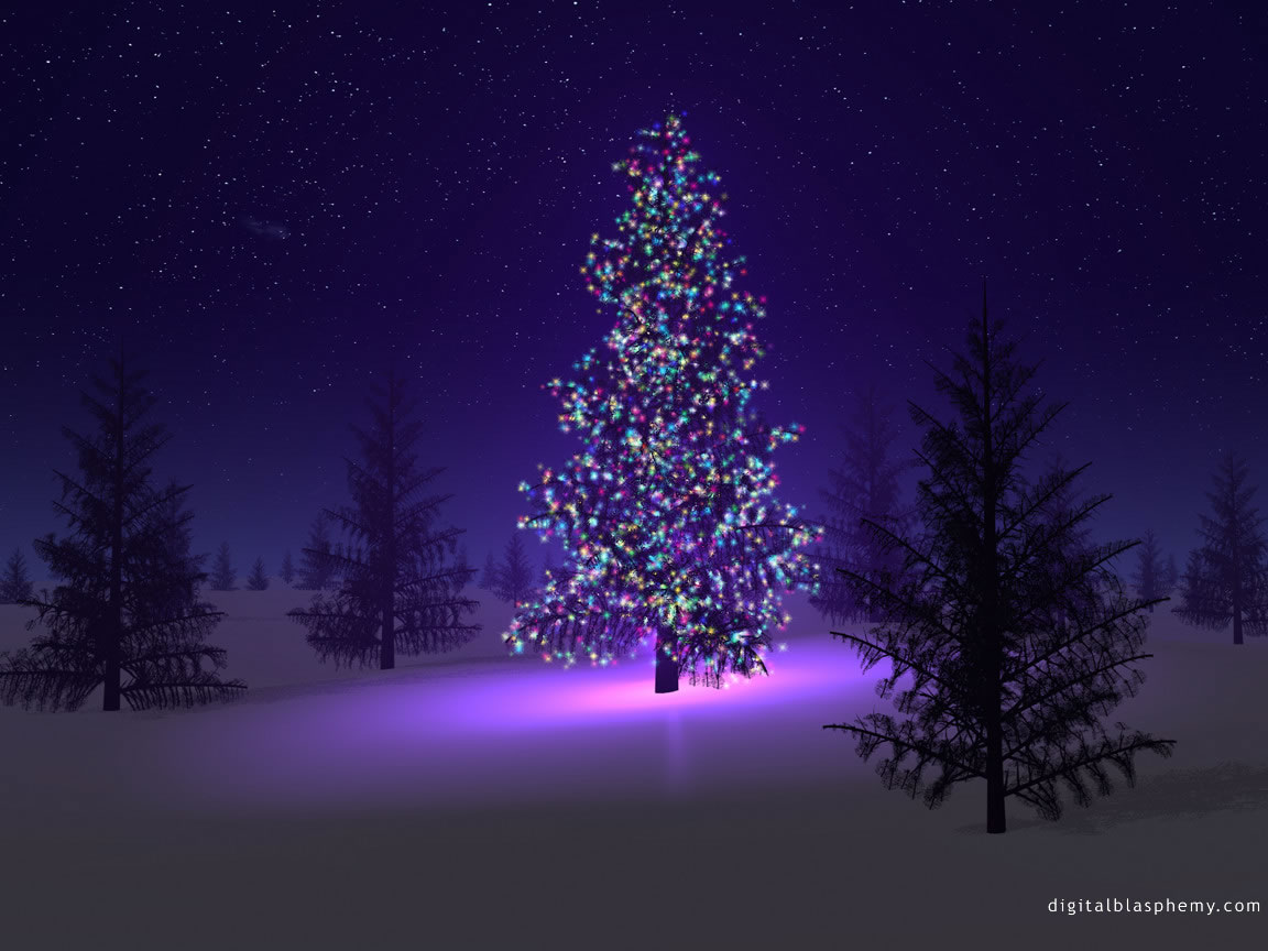 Xaver s christmas tree for Image pour ecran