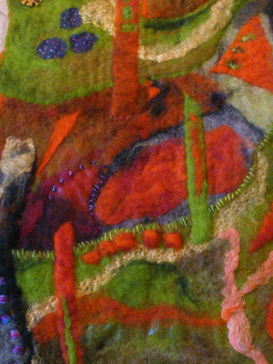 felted wild color