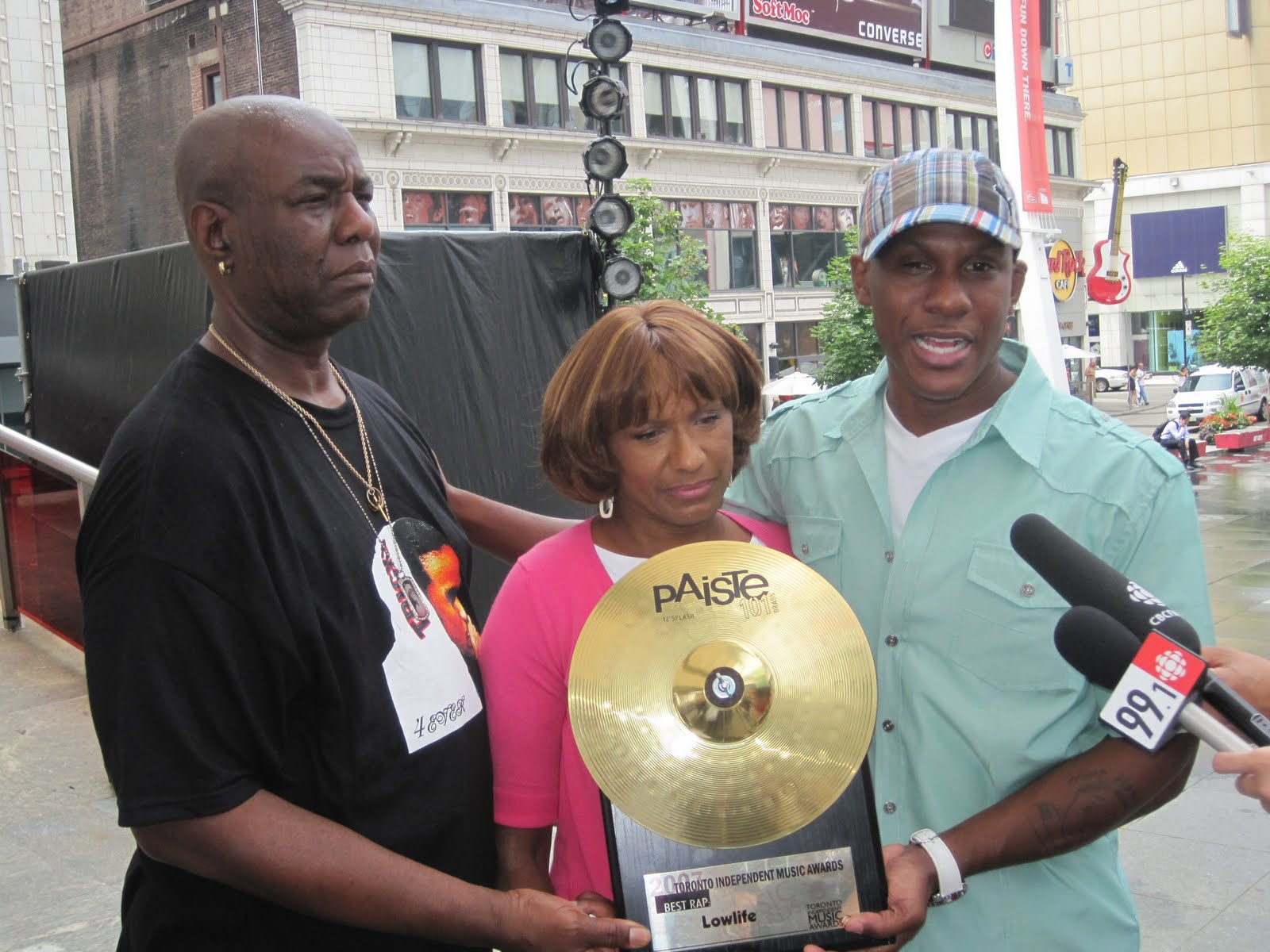 Atlanta R ampB artist Tim Ryan Glover And Tameka Foster
