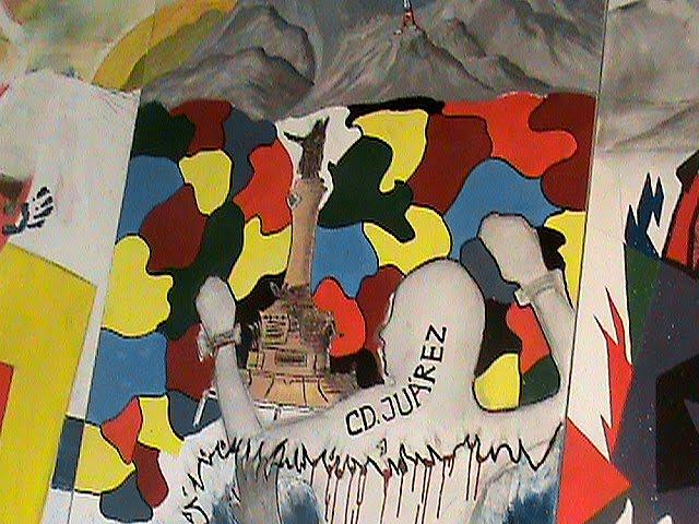 Rancho las voces arte p blico ciudad ju rez j venes for Mural prepa 1 uaemex